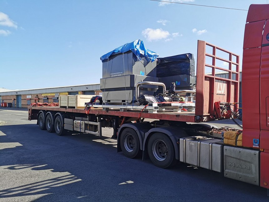OUR SONECO® SONO-EC TREATMENT SYSTEM LEAVING FOR NORWAY